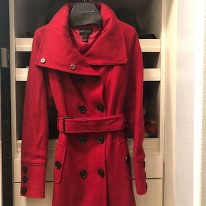 MNG casual red coat